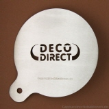 Kaffeeschablone Deco Direct